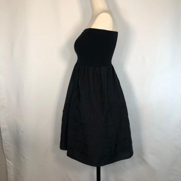 Theory Cotton Organza Convertible Strapless Dress